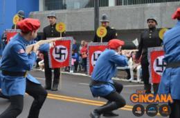 Cenário da 2ª Guerra Mundial é o desfile da Selvagens