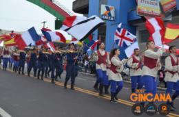 Guerra Napoleônica encerra o desfile com a Kabonghi