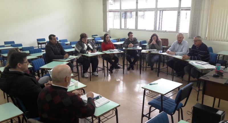 Coordenadores de comitês se reuniram no início de julho