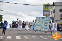 Inicia desfile na rua Cláudio Manoel