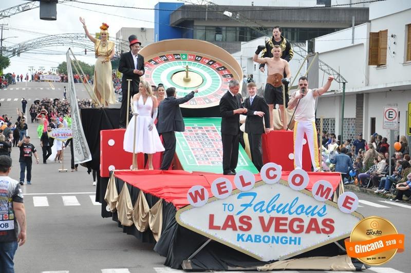Kabonghi invade os cassinos de Las Vegas