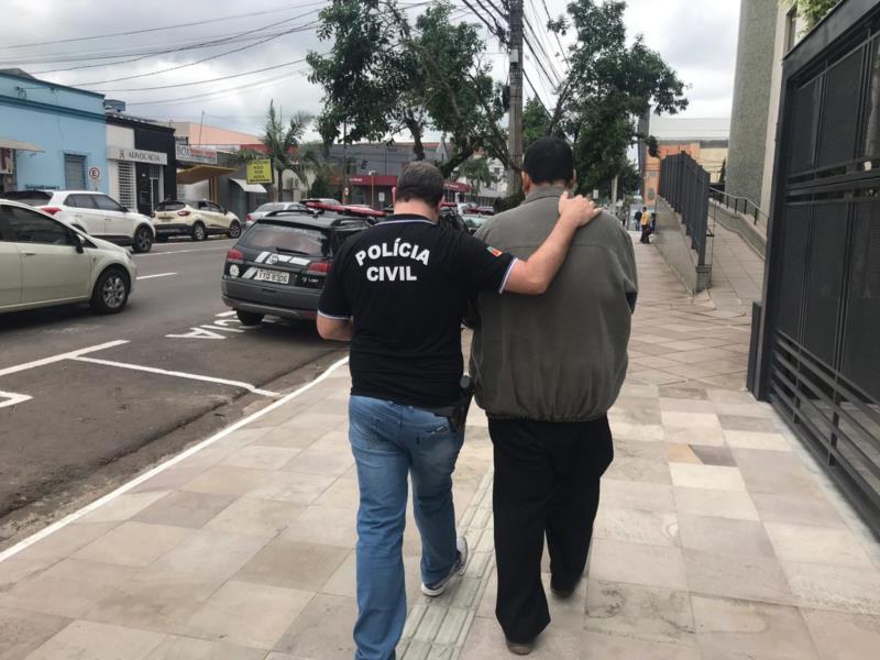Suspeito foi encaminhado ao Presídio Regional