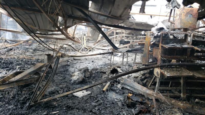 VÍDEO: Incêndio atinge a Calçados Beira Rio, em Mato Leitão