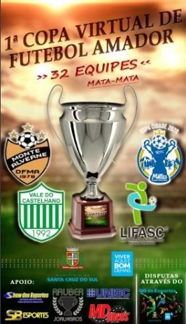 Secretaria de Esportes promove 1ª Copa Virtual de Futebol Amador de Santa Cruz