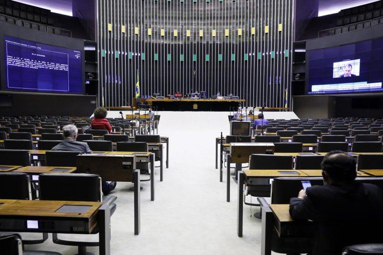 Plenário da Câmara dos Deputados realiza votações virtuais na pandemia de Covid-19