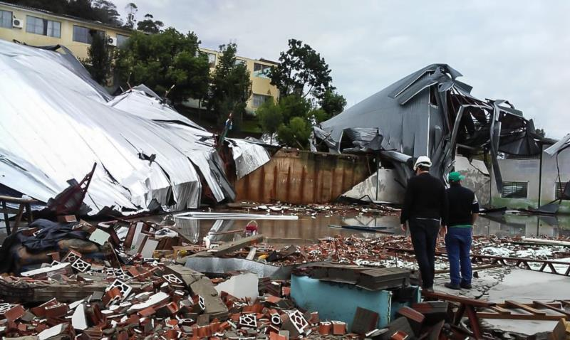 Tempestades também atingiram o Paraná
