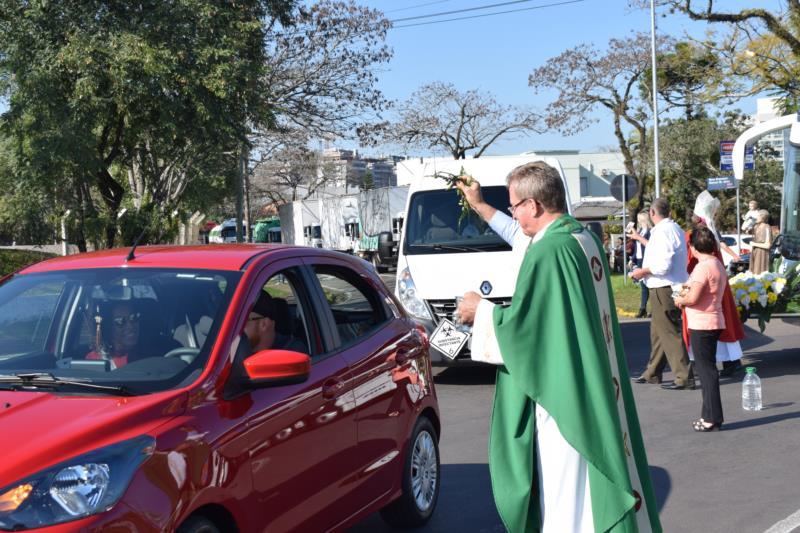 Paróquia Ressurreição vai realizar bênção aos motoristas