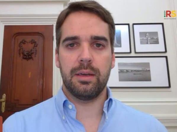 Eduardo Leite testa positivo para a Covid-19