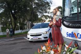 FOTOS: Das alturas, a benção aos motoristas