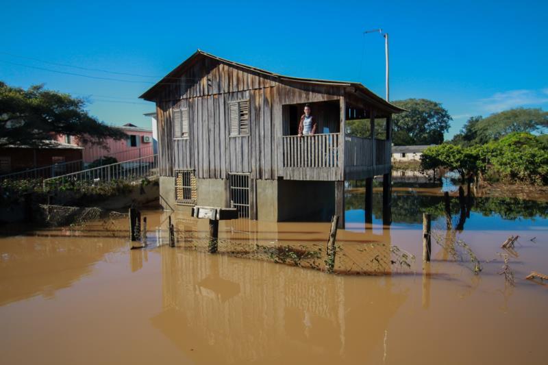 Venâncio decreta situação de emergência em virtude de enchente do Rio Taquari