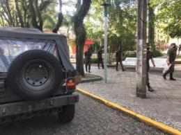 Exército realiza ação de orientação para evitar aglomerações em Santa Cruz