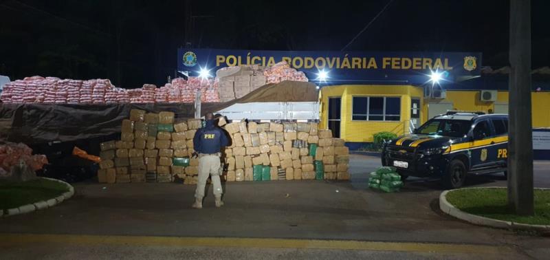 Prejuízo de quase sete milhões de reais para o crime organizado