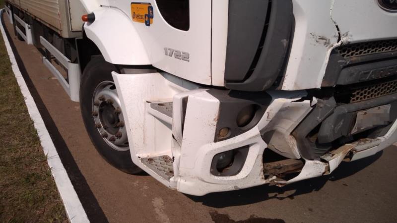 Acidente deixa um ferido na RSC-287