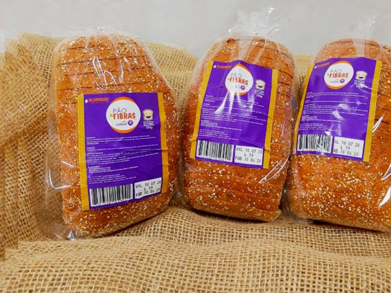 """Além do pão fatiado """"normal"""", versão em fibras também será comercializada"""