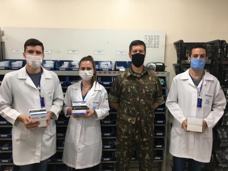 Repasses foram feitos pelo Ministério da Defesa – Exército Brasileiro