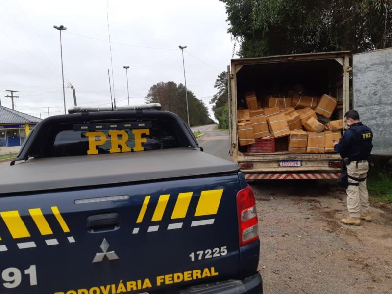 Ação aconteceu na tarde desta terça-feira na BR-471 em Pantano Grande
