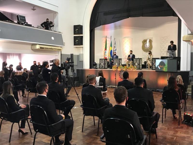 Polícia Civil forma 55 novos delegados