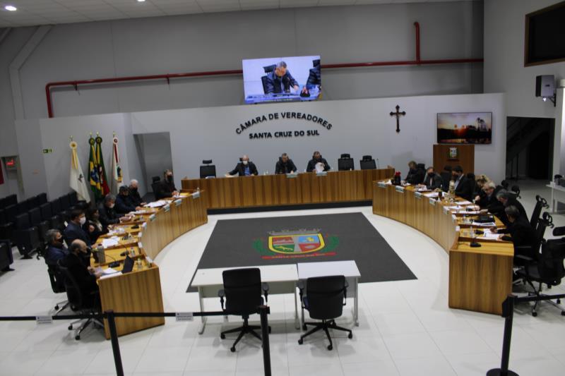 Câmara de Vereadores tem seis novos projetos para a sessão desta terça