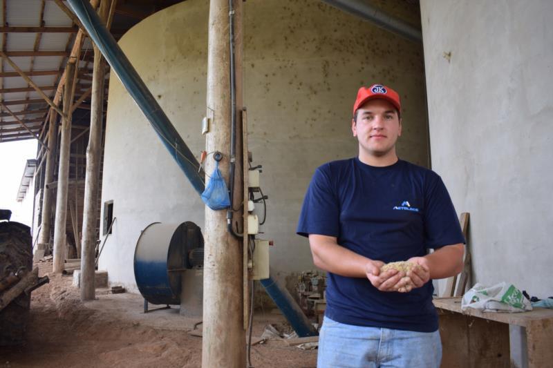Família de Christian aposta no plantio de arroz há aproximadamente 30 anos