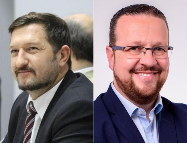 Alex Knak é advogado e cumpre o primeiro mandado como vereador em Santa Cruz, enquanto Fabiano Dupont é professor do curso do Direito