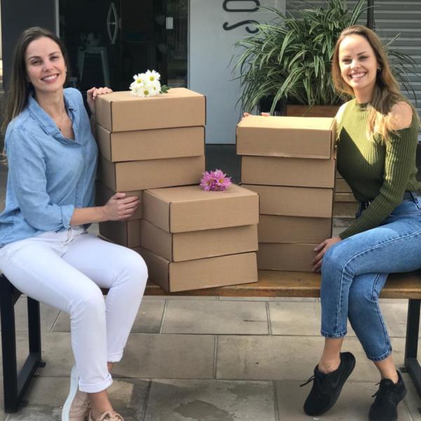 Irmãs empreendedoras encaminham o projeto unidas