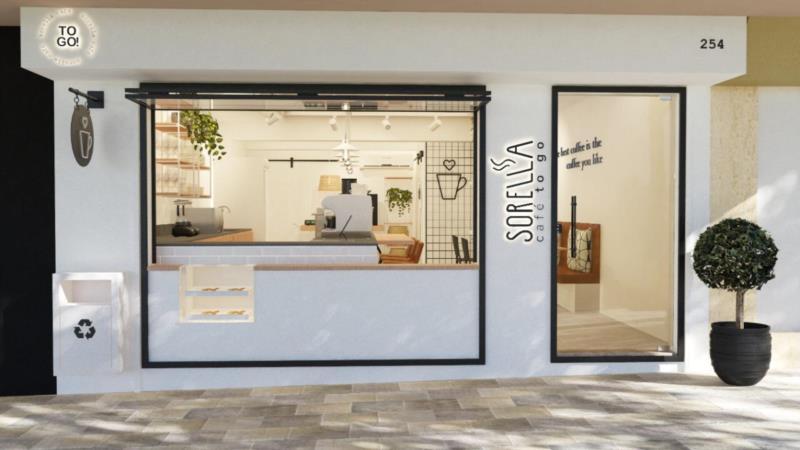Projeto do local, feito pelo Escritório de Arquitetura Moura Falleiro