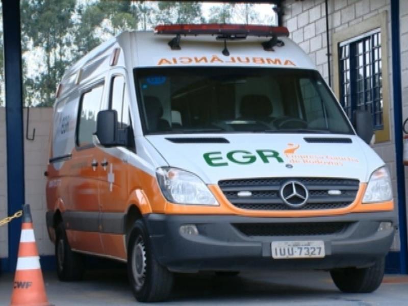 Na RSC-287 uma ambulância estará disponível para atendimento das ocorrências