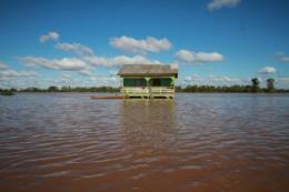 Caixa libera consulta de FGTS para famílias atingidas pela enchente em Mariante