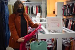 Louise conta que as lojas agradam todos os tipos de clientes