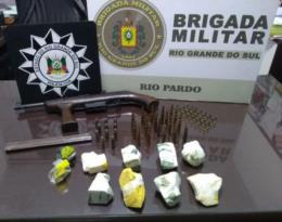Prisão de duas mulheres por tráfico em Rio Pardo resulta em outra apreensão de drogas e arma