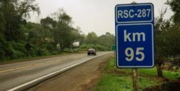 Homologado edital de concorrência para a concessão de trecho da RSC-287