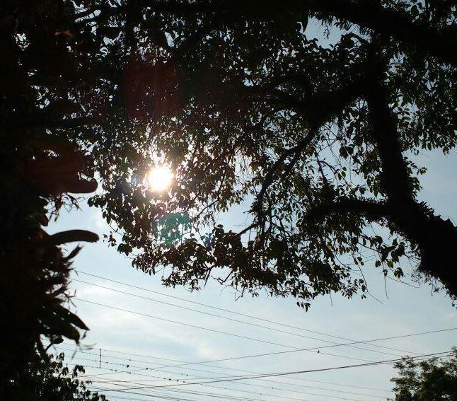Massa de ar seco e quente avança sobre o Estado, garantindo o tempo firme nos próximos dias