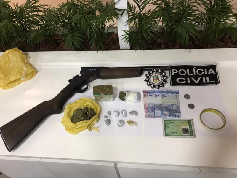 Ação da Polícia Civil aconteceu no início da manhã desta quinta-feira