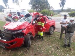 VÍDEO: Homem e mulher morrem em acidente na BR-386