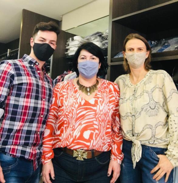 Pablo Barros, Rose Machado e Simone May, equipe Don Juan