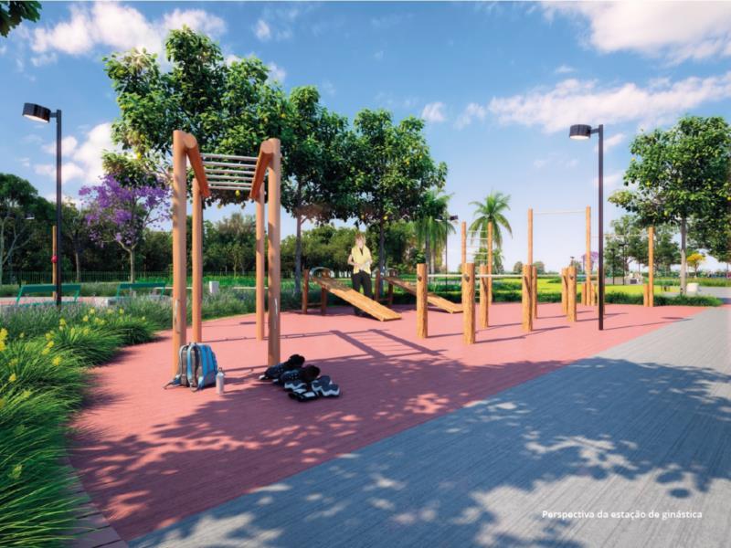 No local, os novos moradores e frequentadores terão acesso ainda a equipamentos de ginástica, praças de jogos e leitura, pomar, playground para as crianças e muito mais