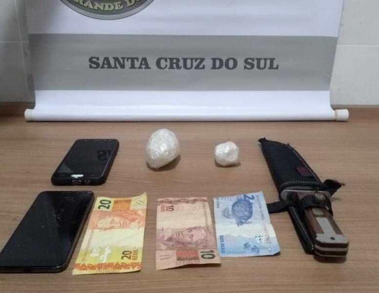 Dupla foi conduzida à Delegacia de Polícia de Pronto Atendimento para a confecção do registro