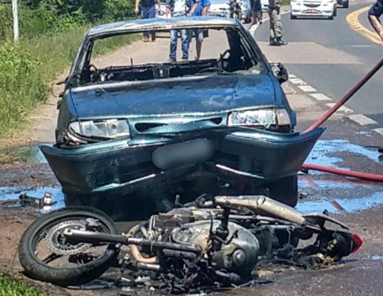 Polícia Civil prende motorista que fugiu após atropelar motociclista na BR-471
