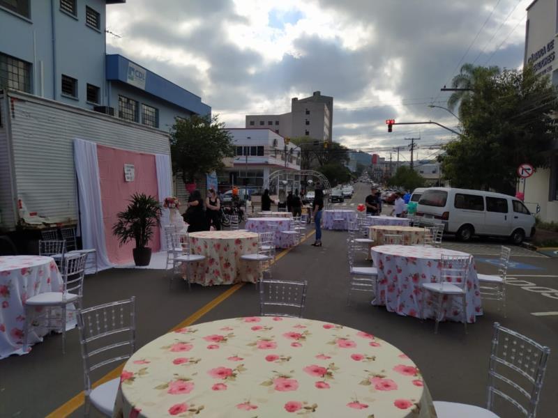 Profissionais de eventos realizam ato pela volta das atividades em Santa Cruz