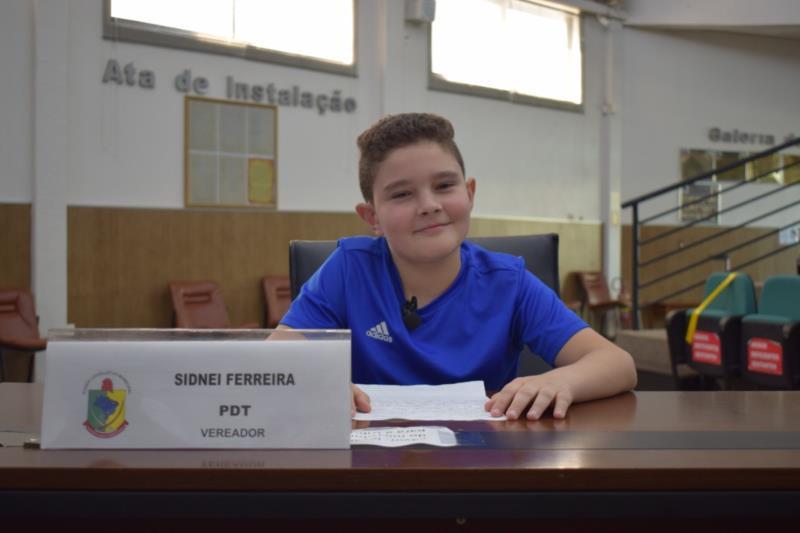 Guilherme Assmann, da Escola 11 de maio. Representou o vereador Sid Ferreira