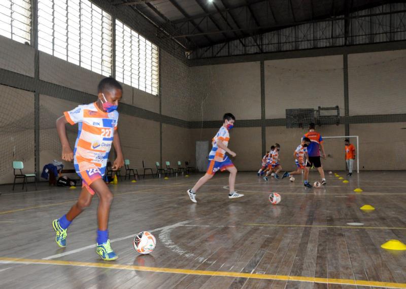 Jovens e crianças retornaram com entusiasmo às práticas esportivas