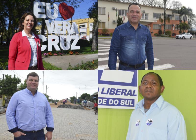 Divulgada primeira pesquisa eleitoral em Vera Cruz; veja quem sai na frente