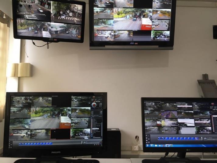 Atualmente, 20 câmeras em funcionamento monitoram a cidade