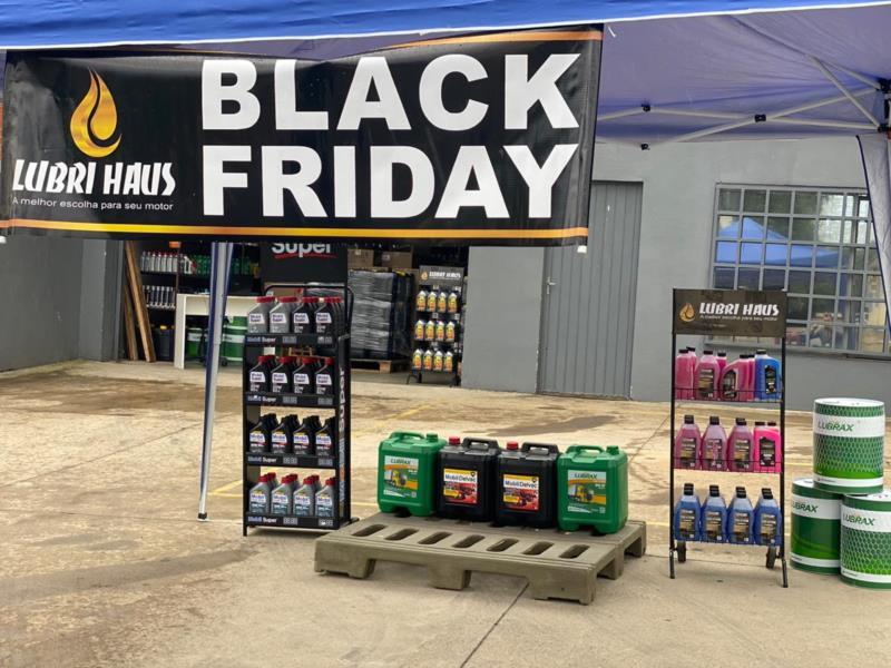 Com variedade de óleos e filtros, Lubri Haus aposta em Black Friday