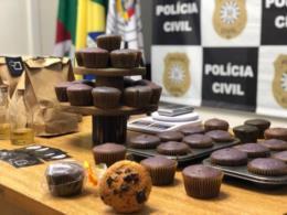 Polícia Civil desarticula comércio de muffins e licor feitos com droga