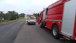 Homem morre em acidente entre moto e caminhão na RSC-287 em Candelária