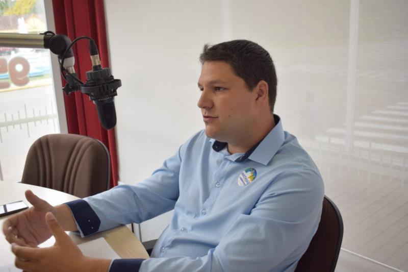 """""""Teremos um governo voltado à população, de portas abertas e diálogo com a comunidade"""", diz Mathias Bertram"""