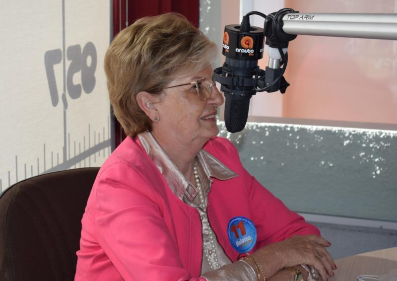 """""""Eu quero trabalhar para as pessoas, atender a nossa gente"""", afirma Helena Hermany"""