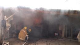 Incêndio destrói estufa de fumo em Candelária