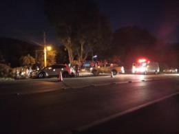 Homem morre e mulher fica ferida em acidente na RSC-287